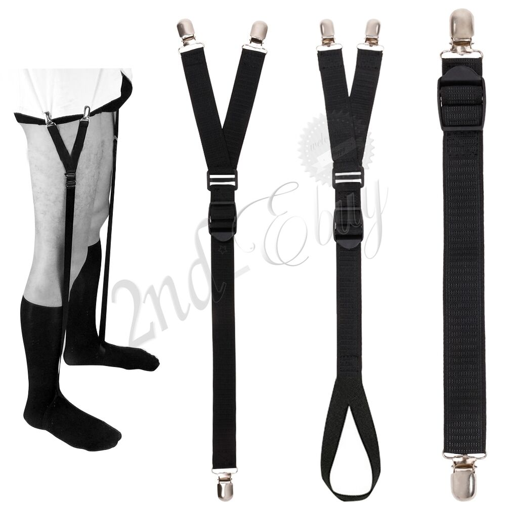 Find great deals on eBay for Sock Suspenders in Men's Socks. Shop with confidence. Find great deals on eBay for Sock Suspenders in Men's Socks. Shop with confidence. 1 x Pair of Suspenders. shirt stays, keep your shirt in place and with crease-resistance. it is elastic and adjustable. Features: Adjustable and elastic, fit for the most.
