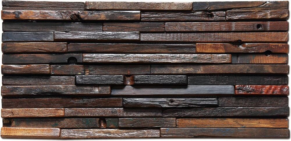 rustic wood panel wall home interior design tile antique reclaimed wood rustic 11848