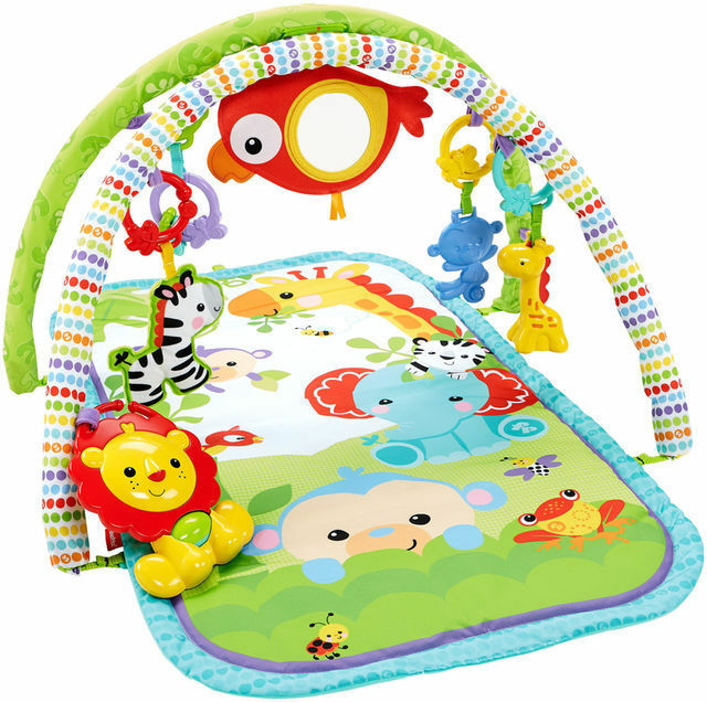 Fisher Price Busy Baby 3 In 1 Gym Rainforest Theme