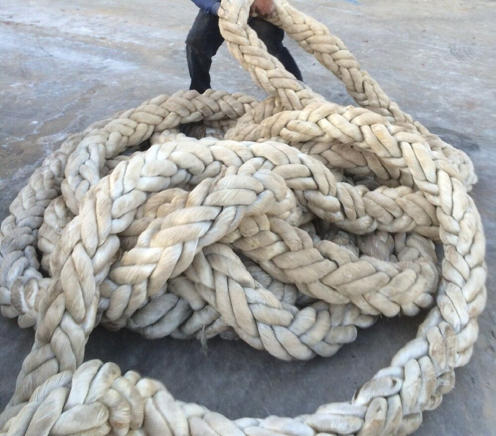 large nautical dock rope 6 to 8 diameter 100 feet free