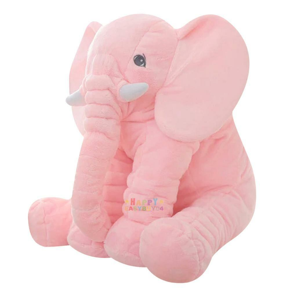 Baby Plush Toys : Pink large elephant pillows cushion baby plush toy stuffed