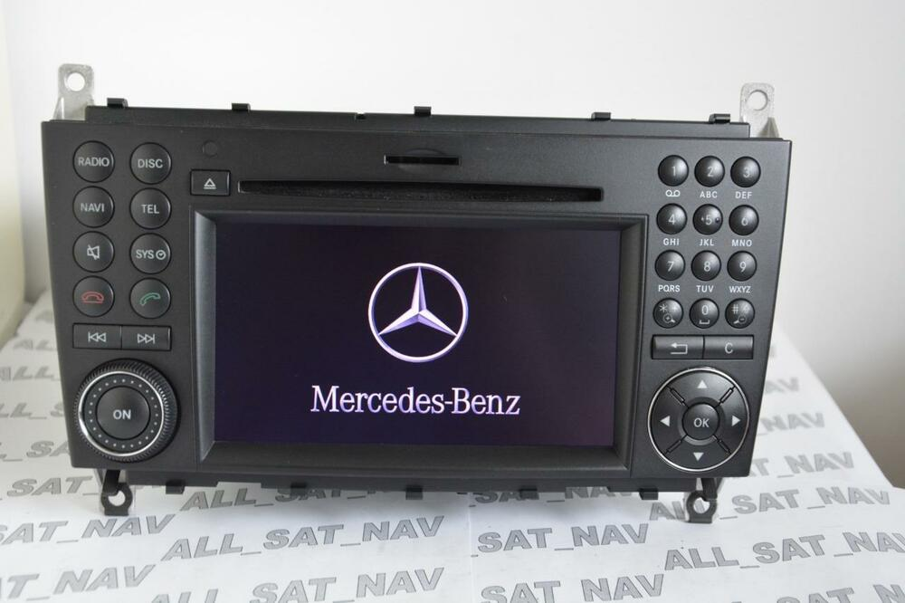 mercedes aps comand ntg2 5 w203 c class clc coupe sat nav. Black Bedroom Furniture Sets. Home Design Ideas