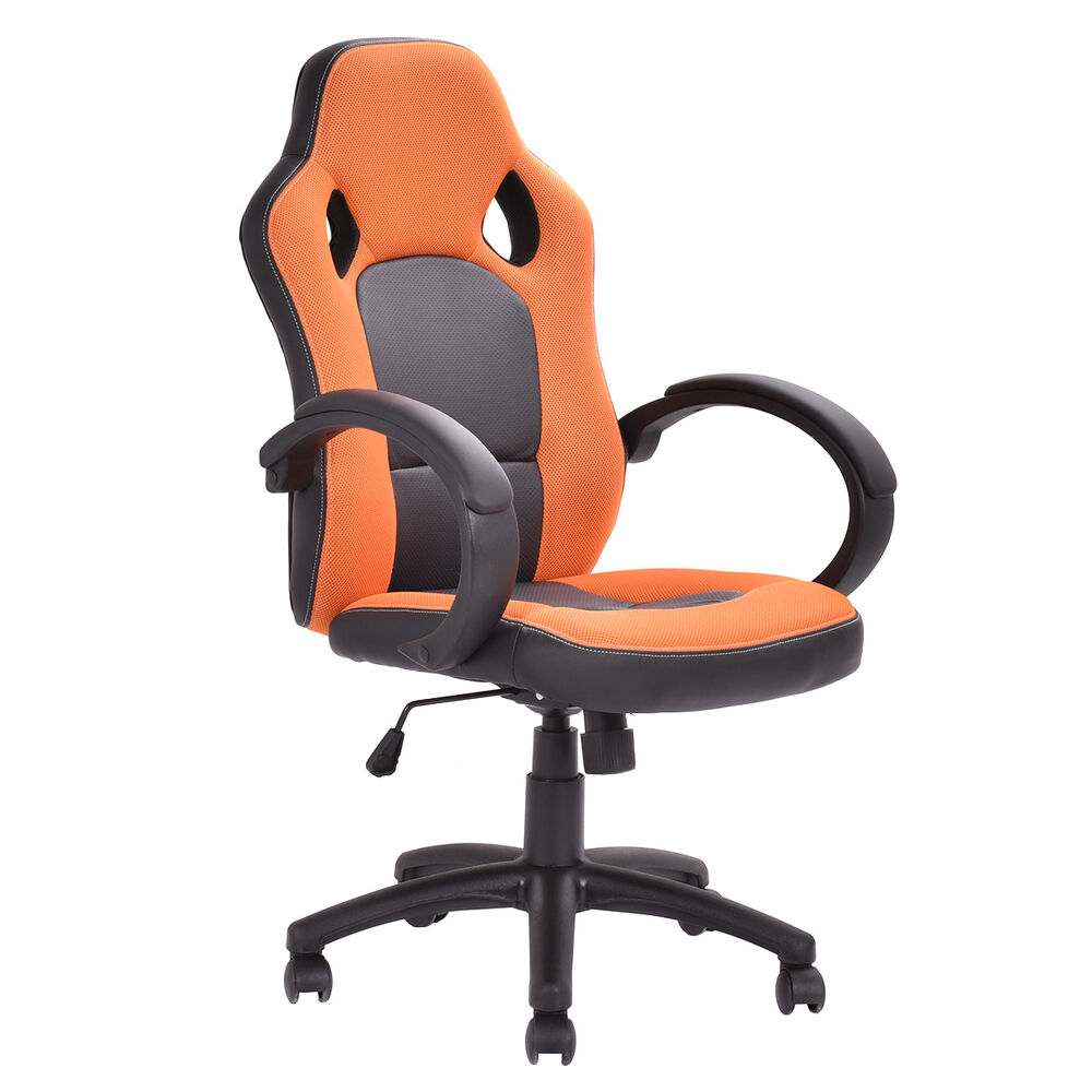 Executive bucket seat racing style chair high back for New style chair