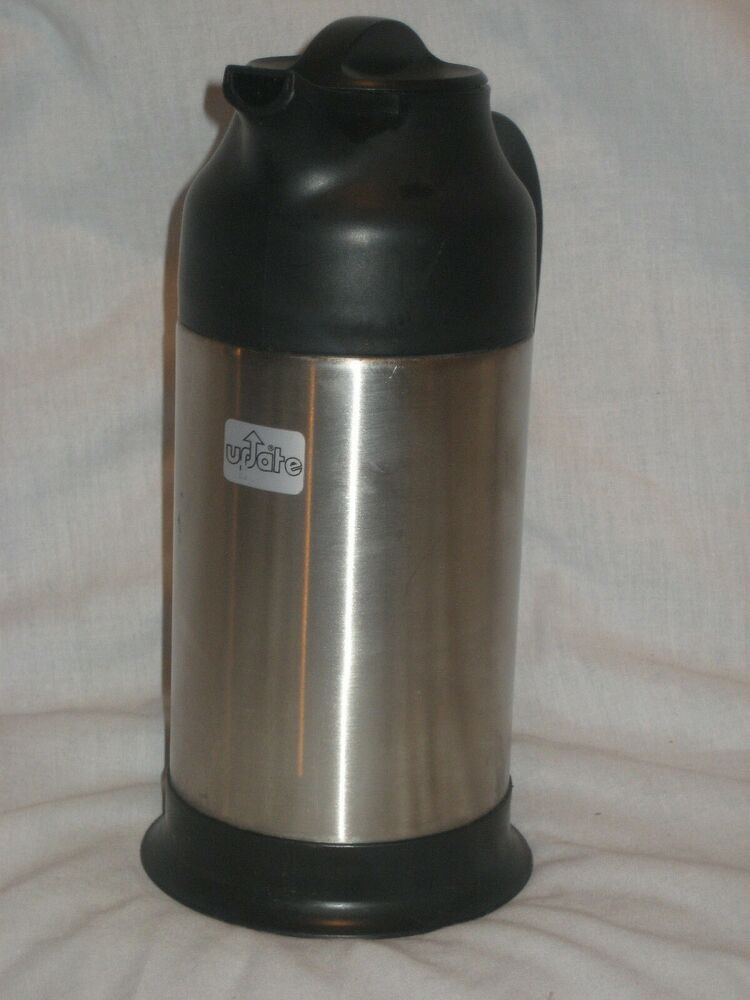 thermal coffee carafe update portable stainless steel vacuum insulated thermos ebay. Black Bedroom Furniture Sets. Home Design Ideas