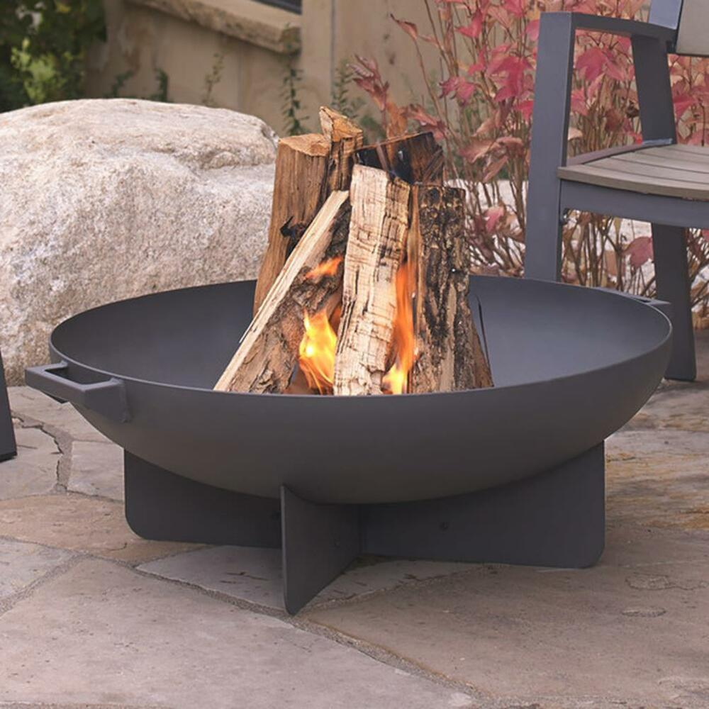 Garden Fire Pit Cooking