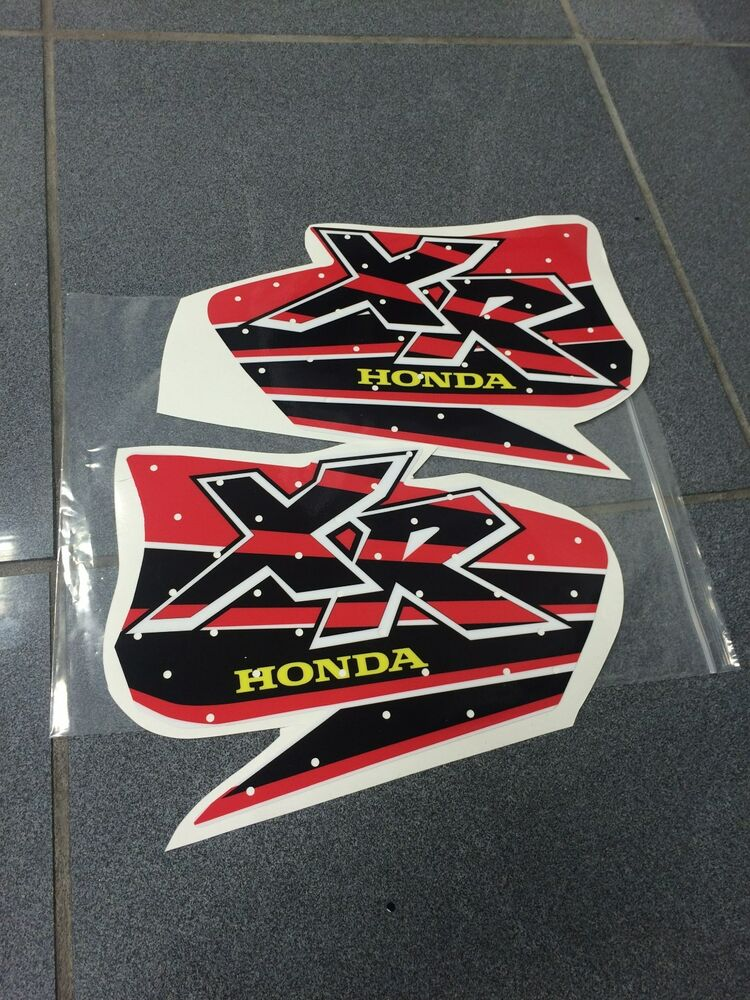 XR 600 400 XR200 XR250 XR400 XR600 FUEL graphics DECALS STICKERS GAS TANK | eBay