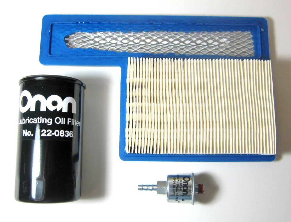 Onan Genuine Factory Parts Filter Kit For Rv Models