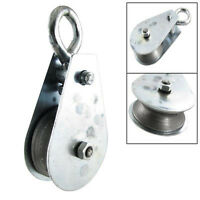 5X(SS (Swivel Hook Single Rope Lifting Pulley Load 0.1 Ton T8