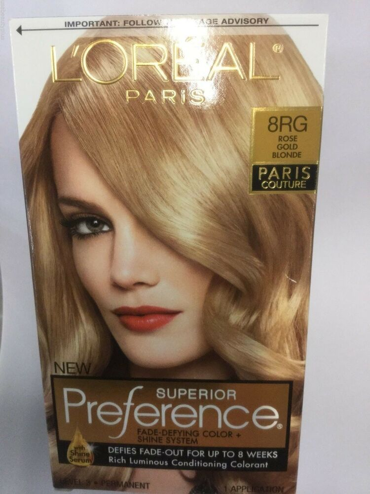 Loreal Superior Preference Paris Couture Hair Color Rose Gold