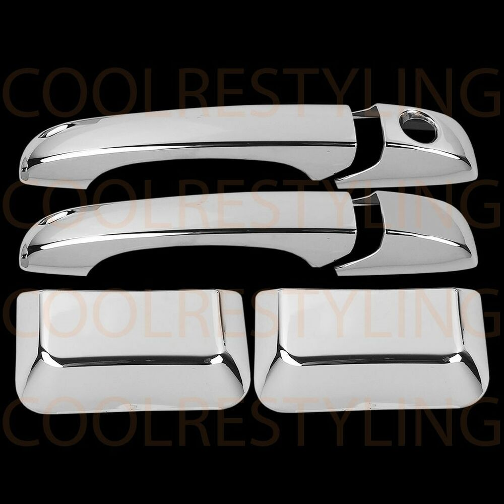2016 Jeep Patriot Accessories >> FOR JEEP COMPASS 2011-2015 CHROME DOOR HANDLE COVERS | eBay