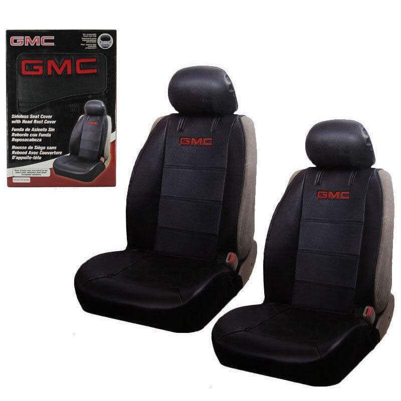 New 2 Front Gmc Elite Synthetic Leather Car Truck Suv