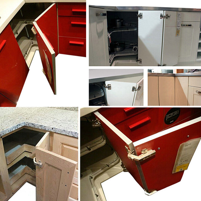 135 Degree Kitchen Cabinet Home Cupboard Pie Cut Concealed