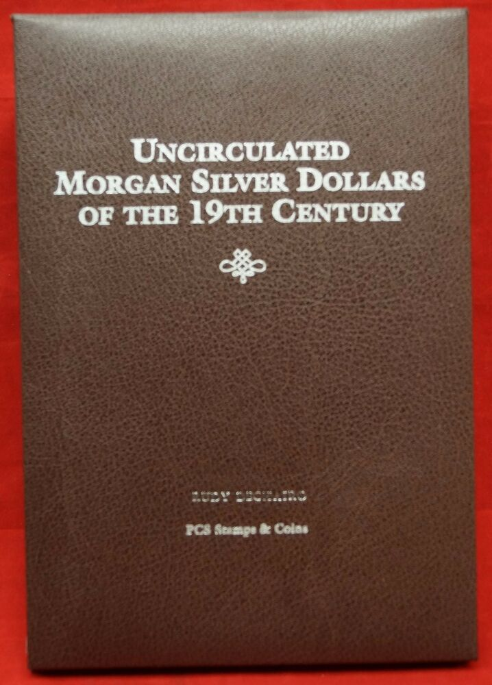 Pcs Stamps Amp Coins Uncirculated Morgan Silver Dollars Of
