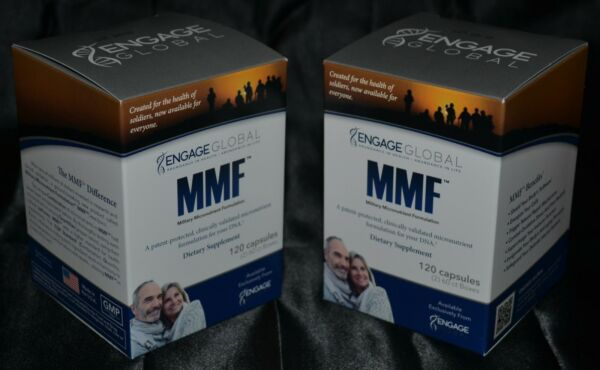Military Micronutrient Formulation Engage Global Dietary Supplement 240 Capsules