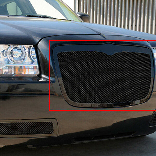 Black 2005 2006 2007 2008 2009 2010 Chrysler 300c: 2005 2006 2007 2008 2009 2010 CHRYSLER 300 300C BLACK MESH