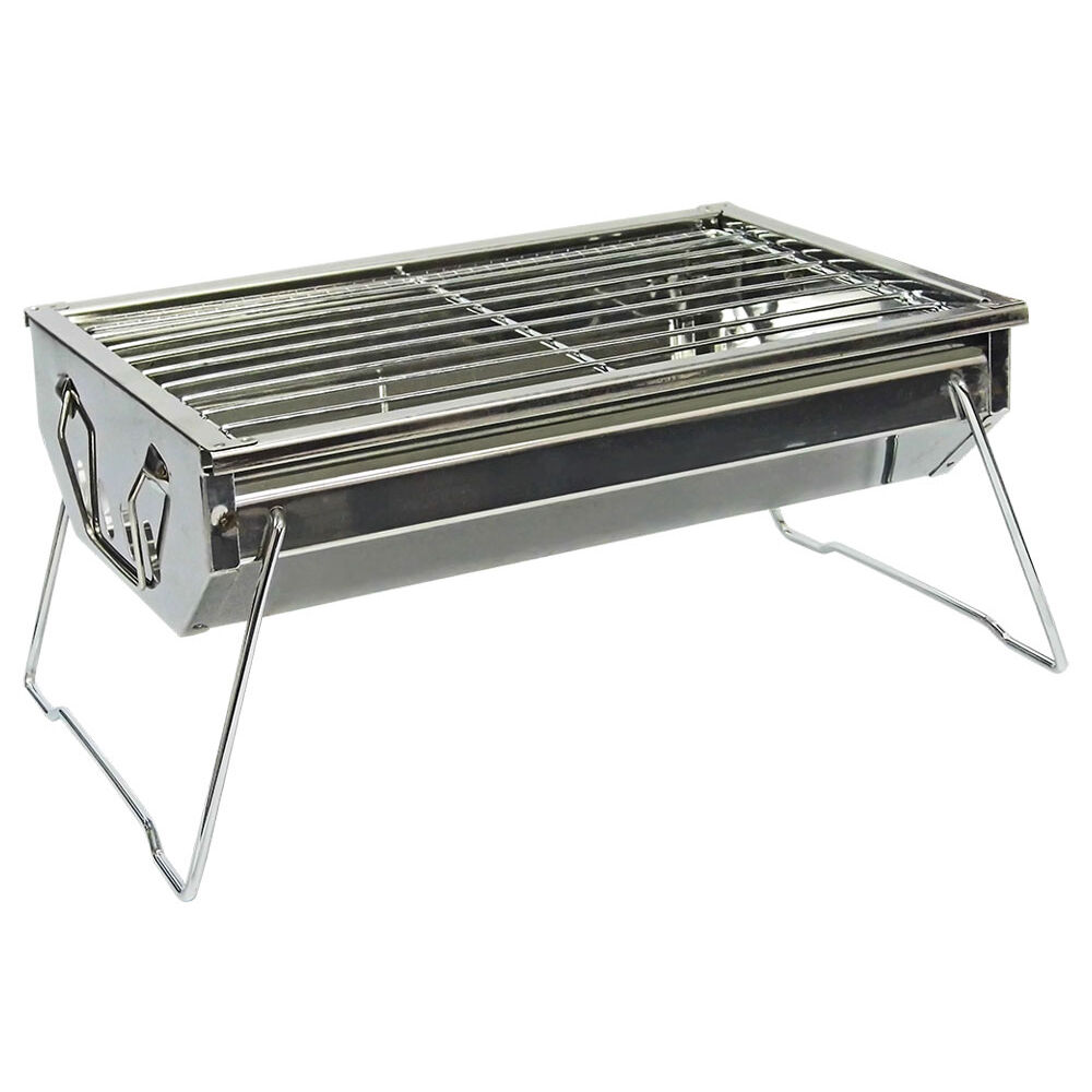 Trailworthy stainless steel charcoal bbq grill ebay