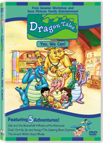 dragon tales vol 4 yes we can dvd region 1 clr cc dss. Black Bedroom Furniture Sets. Home Design Ideas
