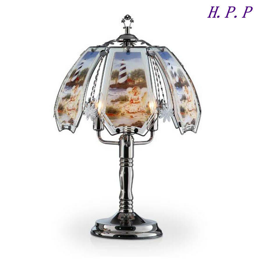 23 5 H New Angel Light House Theme Touch Table Lamp W