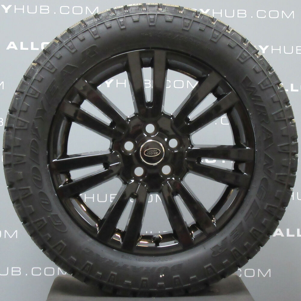 Genuine Land Rover Discovery 4 19inch Black Alloy Wheels