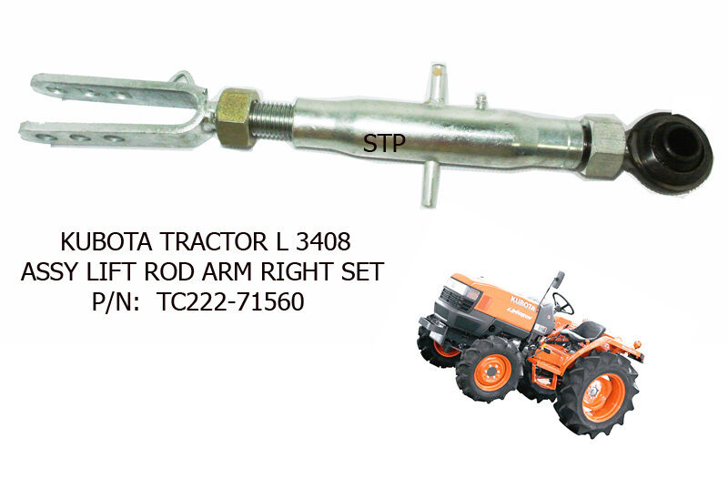 Tractor Bucket Lift Arms : Use for kubota tractor l assy lift rod arm right