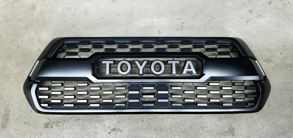 trd pro grille tacoma 2016 toyota pt228 35170 autos post. Black Bedroom Furniture Sets. Home Design Ideas