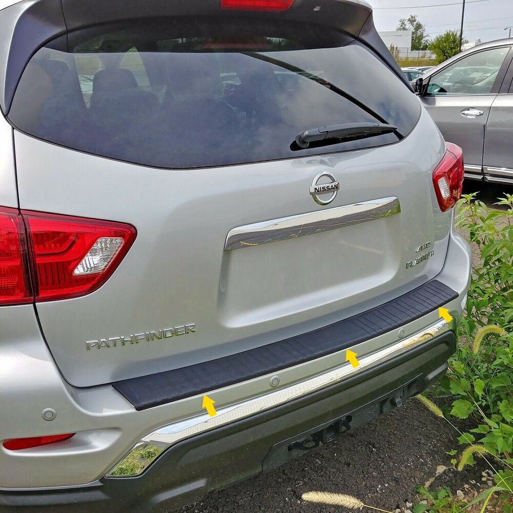 REAR BUMPER COVER PROTECTION TRIM FITS 2017 2018 2019