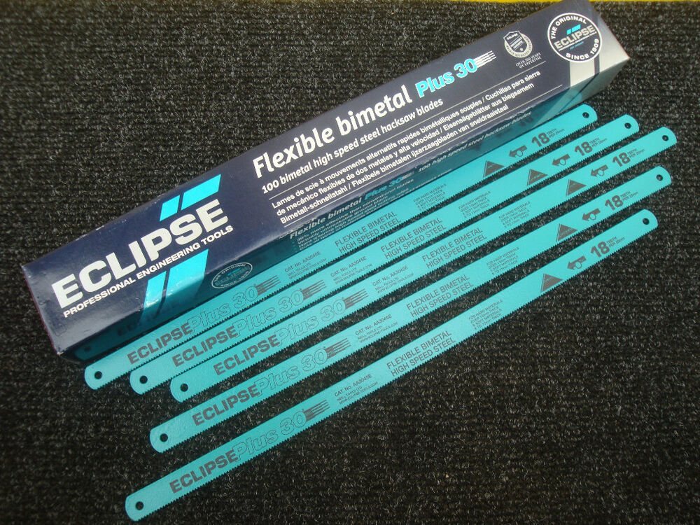 5 x ECLIPSE AA3045E FLEXIBLE BI METAL HIGH SPEED STEEL 12 ...