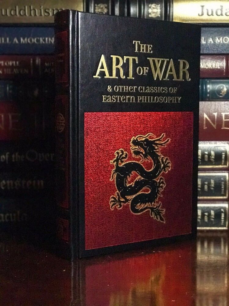 The Art Of War By Sun Tzu New Leather Bound Gift Edition Eastern Philosophy Ebay