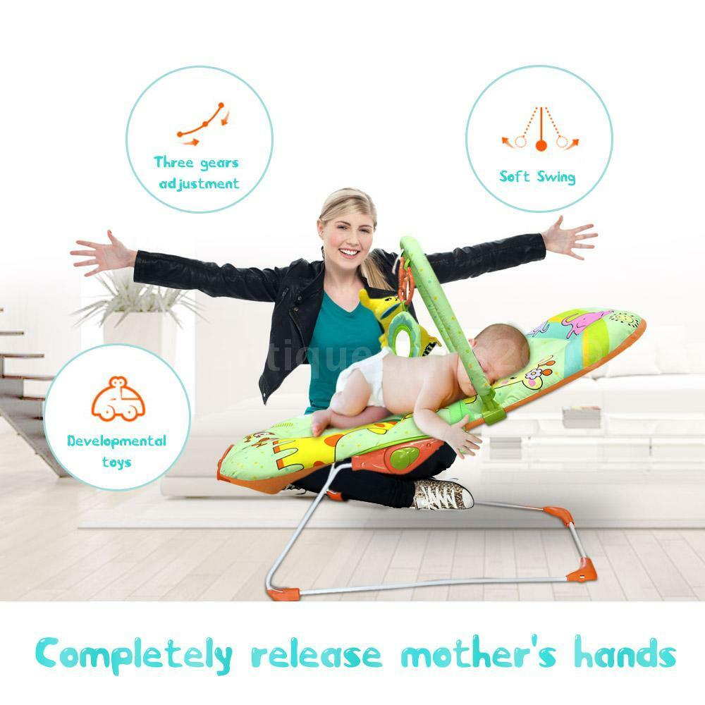 Ametoys Baby Bouncer Seat Rocker Snoothing Vibration
