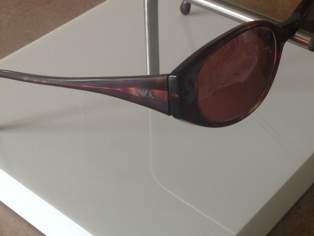 1fab097e9ea4 Details about Emporio Armani Sunglasses Eyeglass Frame   Made in Italy   EA  587 Brown Plastic