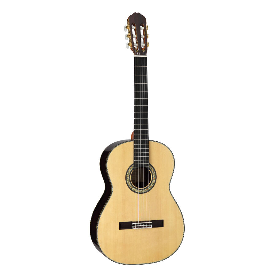 takamine h8ss classical nylon string acoustic guitar with hard case new ebay. Black Bedroom Furniture Sets. Home Design Ideas