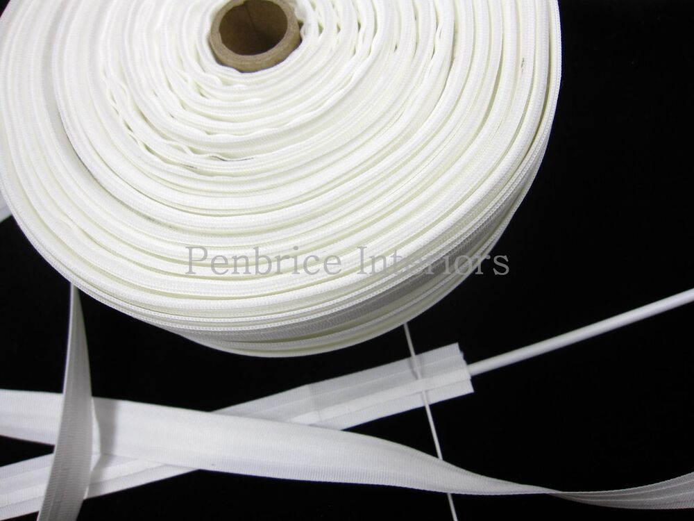 Roman Blind Tape 100m Trade Reel Sew On Loops Amp Rod Slot