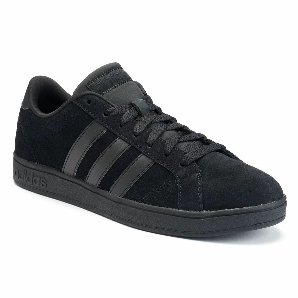 Adidas Baseline Low Shoes Basketball Shoes In All Black In Sz 65