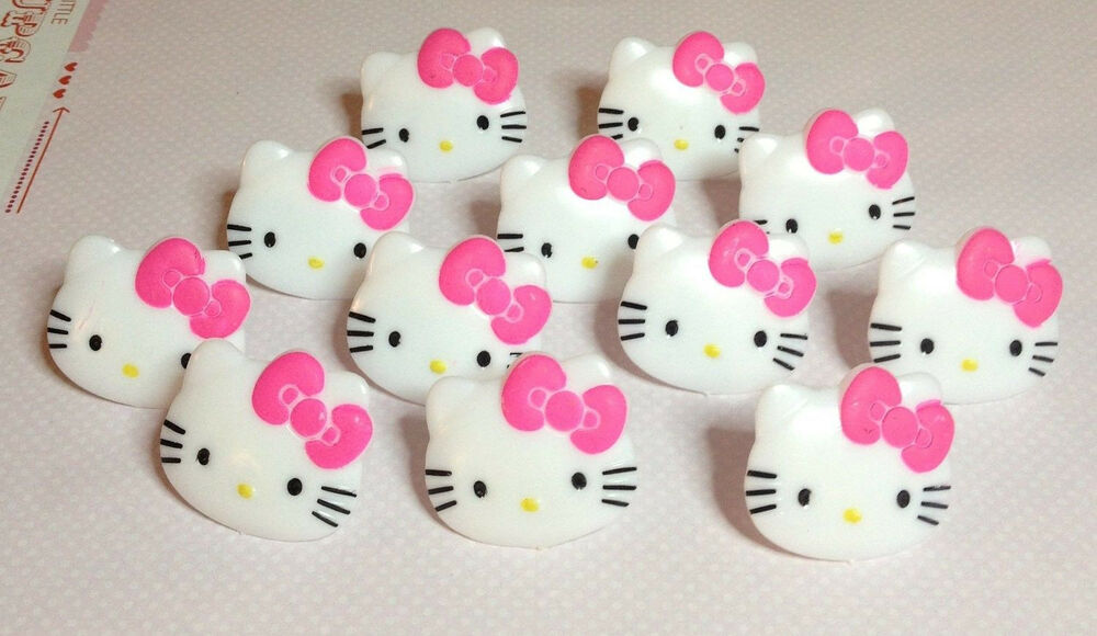 Deco Cupcake Hello Kitty : Cake Decorating Cupcake Toppers Rings - Hello Kitty Heads ...