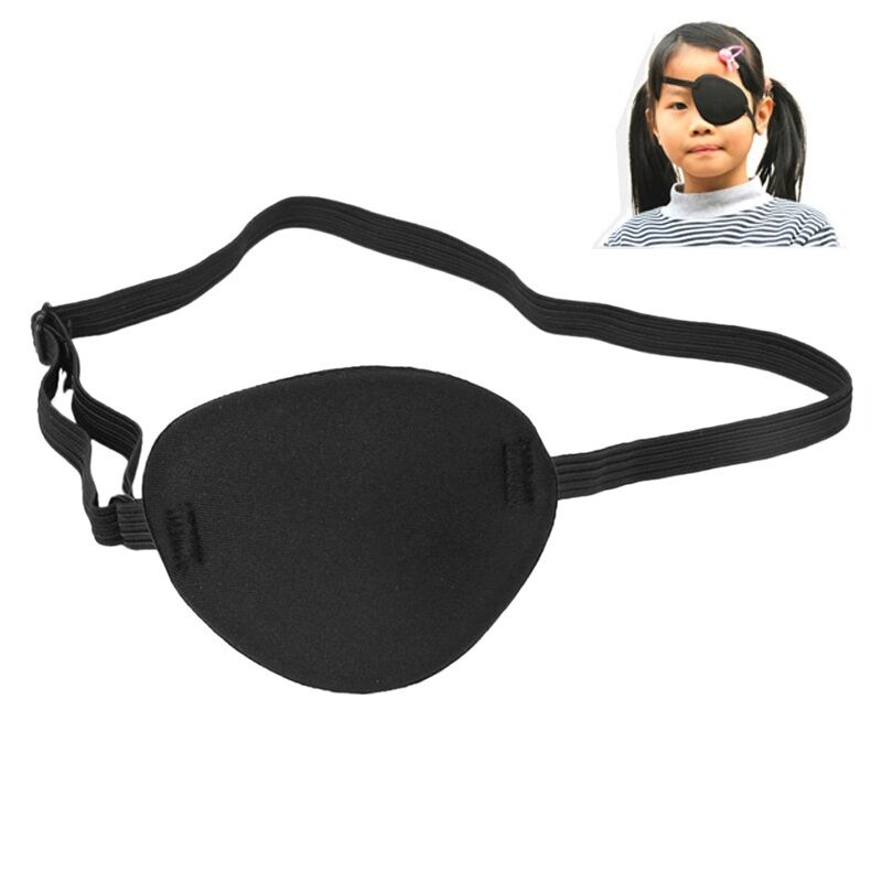Pirate Eye Patch Mask Eyeshade Cover Plain For Kids