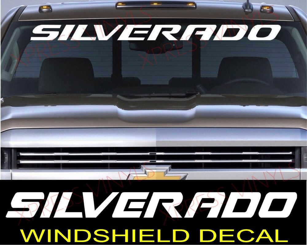 Silverado Windshield Decal Www Imgkid Com The Image