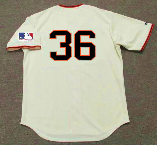 88a0edd7 GAYLORD PERRY San Francisco Giants 1969 Majestic Throwback Home Baseball  Jersey | eBay