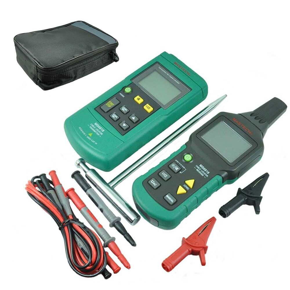 Network Cable Locator : Mastech ms wire tester network phone cable detector