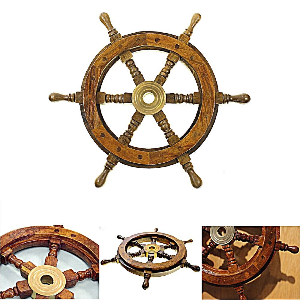Nautical Wheel Decor