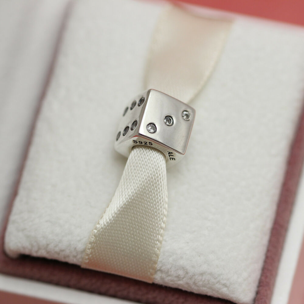 Authentic Pandora Lucky Dice Retired 791269cz Las
