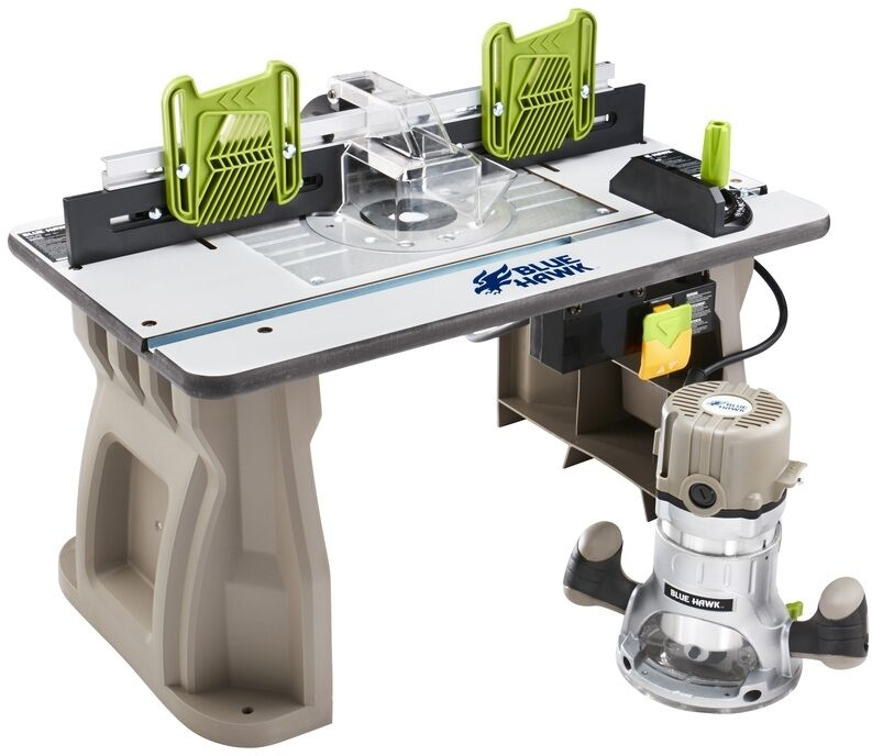 Router table power tool shaper adjustable fence woodwork for Where can i get my window motor fixed