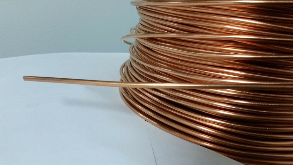 Soft Annealed Ground Wire Solid Bare Copper 8 Awg 10 Feet
