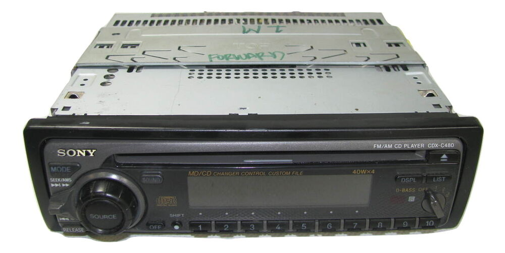 Sony Cdx Am Cd Compact Disc Player Car Stereo 10100