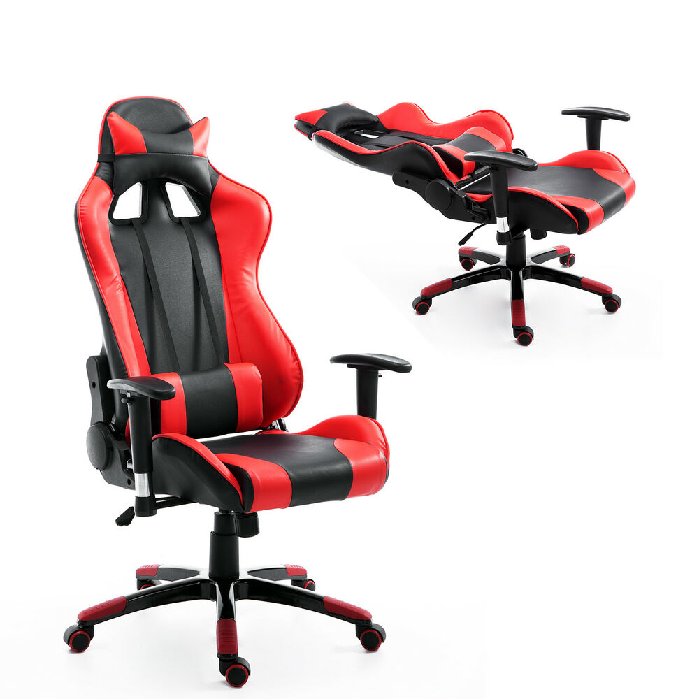 Race Car Style Ergonomic Gaming Office Chair High Back