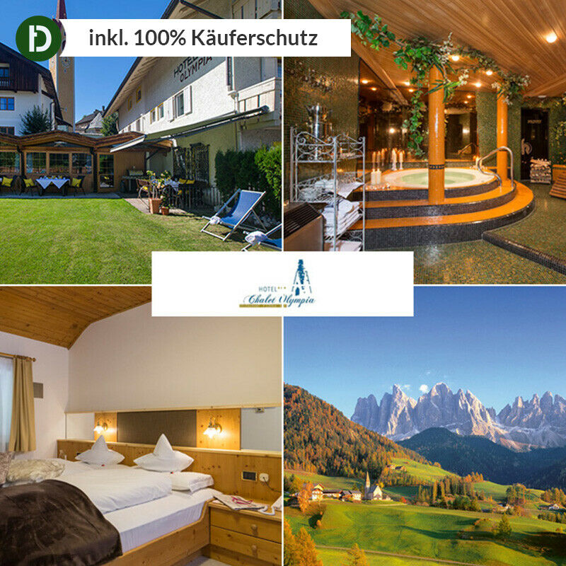 8 tage urlaub in taisten in s dtirol im hotel chalet. Black Bedroom Furniture Sets. Home Design Ideas