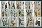 NEW ZEALAND 2003 MILITARY UNIFORMS SET OF 20 FINE USED