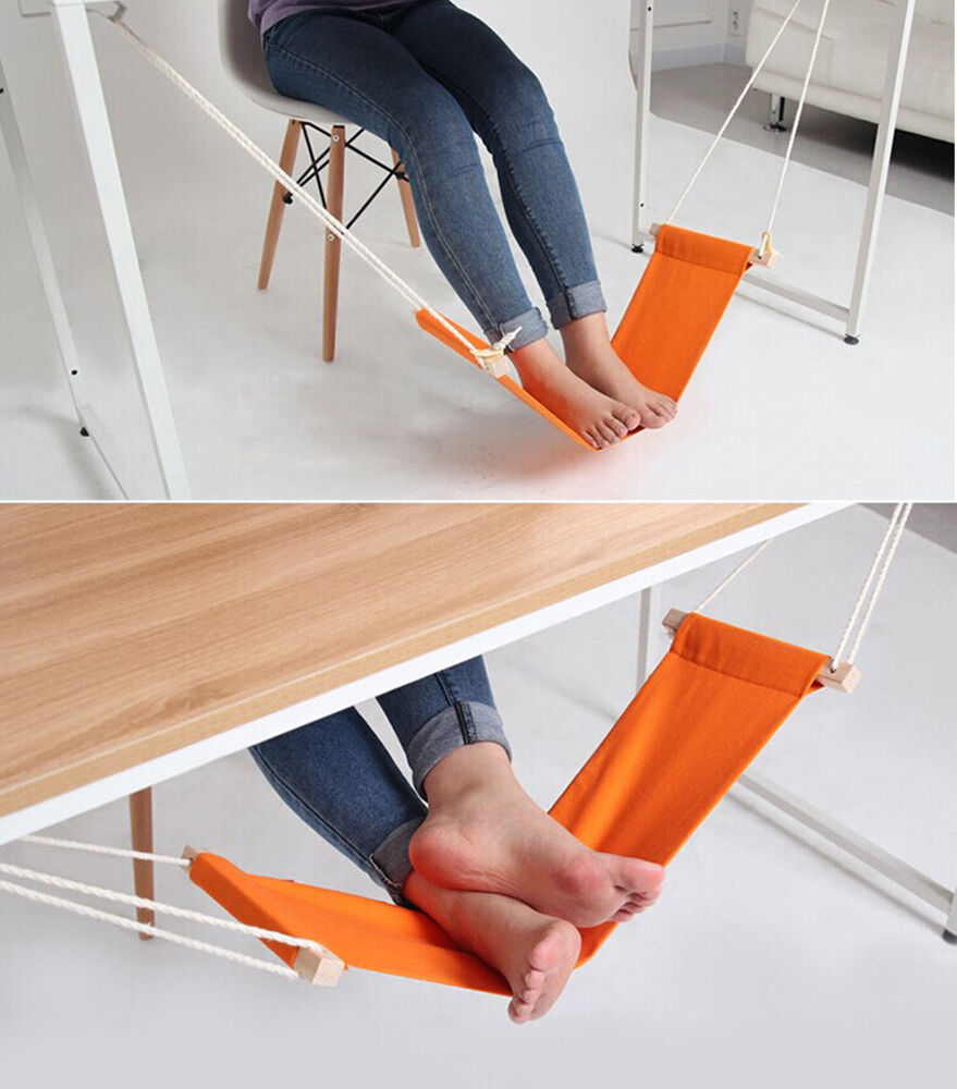 Office Foot Rest Stand Feet Hammock Easy To Disassemble