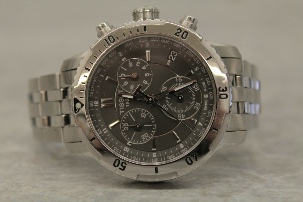 tissot 1853 chronograph date watch prs 200 t067417a ebay. Black Bedroom Furniture Sets. Home Design Ideas