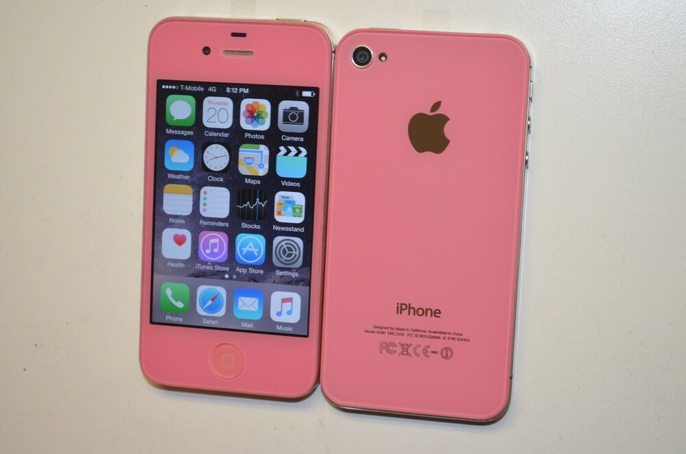 metro pcs iphone apple iphone 4s 16gb light pink factory unlocked metro 1116
