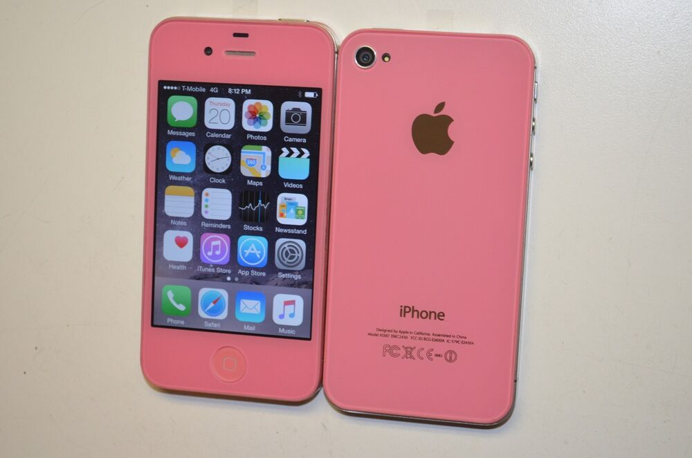 iphones for metro pcs apple iphone 4s 16gb light pink factory unlocked metro 15572